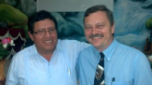 Chris Owens and Ecuadorian Pastor