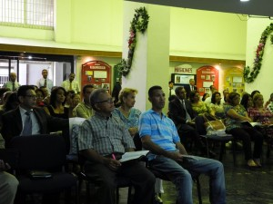 Each night church members, pastors from across Venezuela and first time visitors attended the services