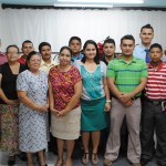 GBS Students at Cabañitas Baptist Church in San Pedro Sula Honduras
